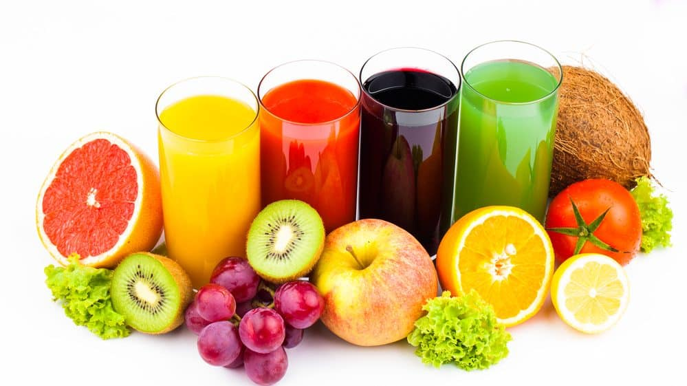 sucos de frutas. excesso de frutose pode faz mal à saúde
