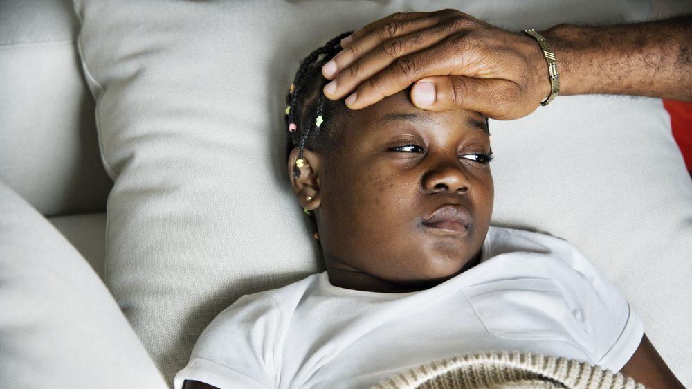 crianca febre