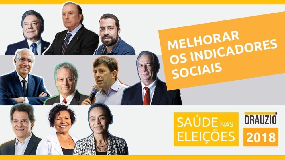 Os candidatos à Presidência da República respondem à terceira pergunta da série sobre saúde. Como reverter a piora dos indicadores de saúde?