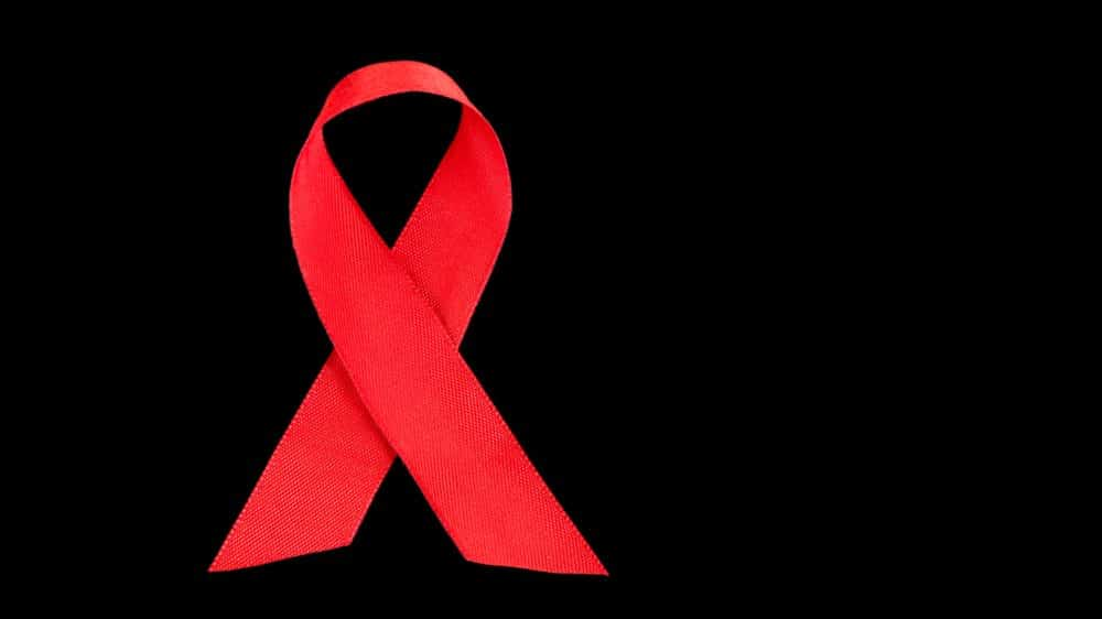 laço vermelho, símbolo da luta contra a aids