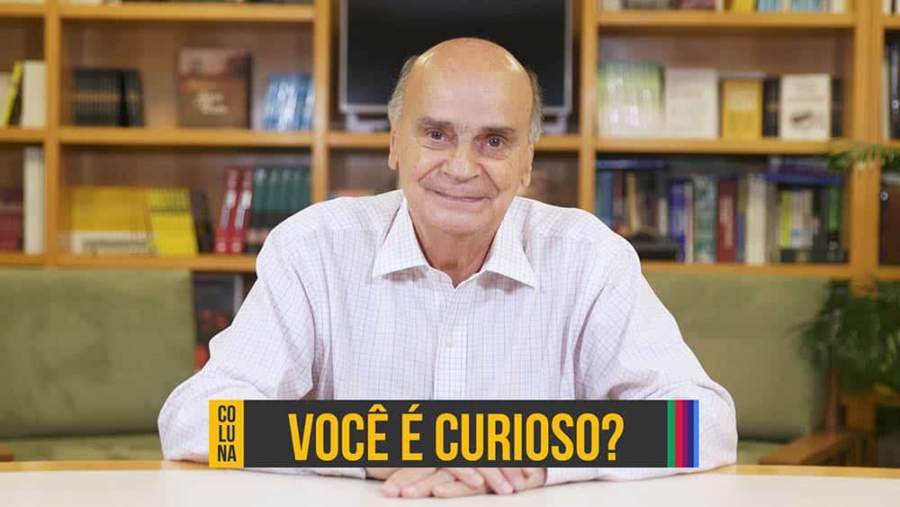 """Thumbnail com o dr. Drauzio e a pergunta """"Você é curioso?""""."""