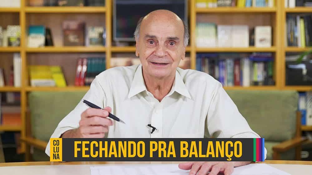 """Thumbnail com dr. Drauzio e o texto """"fechando pra balanço"""", referente à retrospectiva do canal em 2018."""