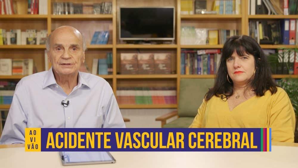live dr drauzio com a neurologista sheila martins sobre AVC