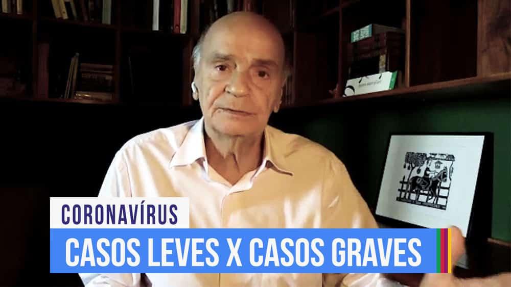 Dr. Drauzio fala sobre o que sabemos até o momento de alguns casos do coronavírus serem mais graves, enquanto outros são leves.