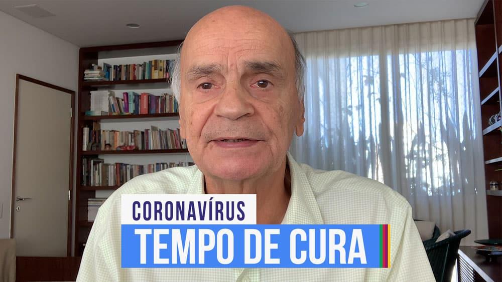 Dr. Drauzio fala sobre o tempo que demora para o paciente se curar do coronavírus.
