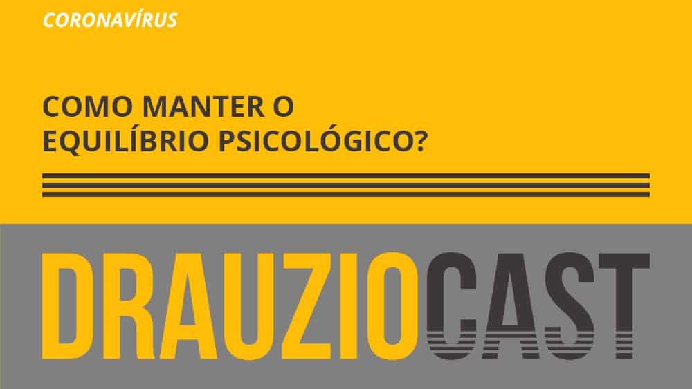 Dr. Drauzio traz dicas de como aliviar a tensão psicológico durante a pandemia, e amenizar os efeitos na sua saúde mental.
