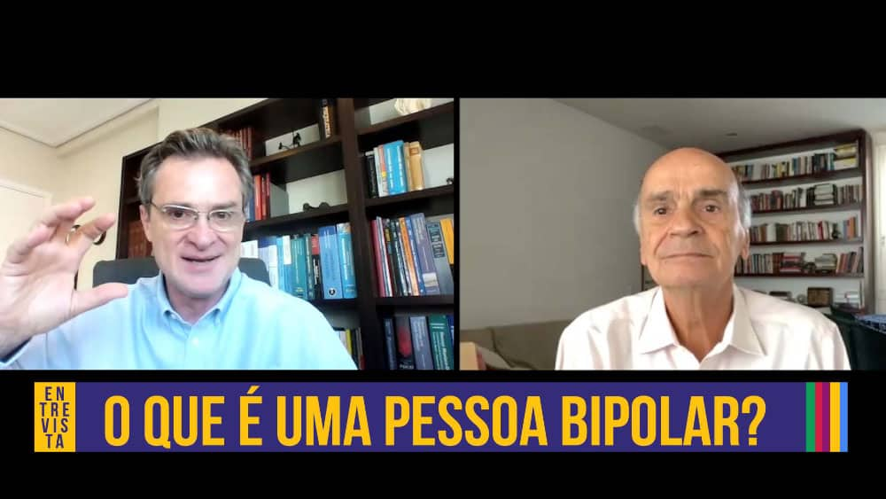 Dr. Drauzio conversa com o psiquiatra Neury Botega sobre as características de uma pessoa bipolar.