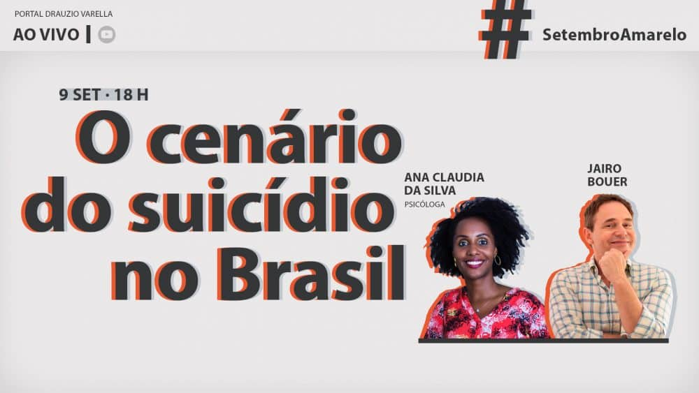 live sobre o cenário do suicídio no brasil portal drauzio varella
