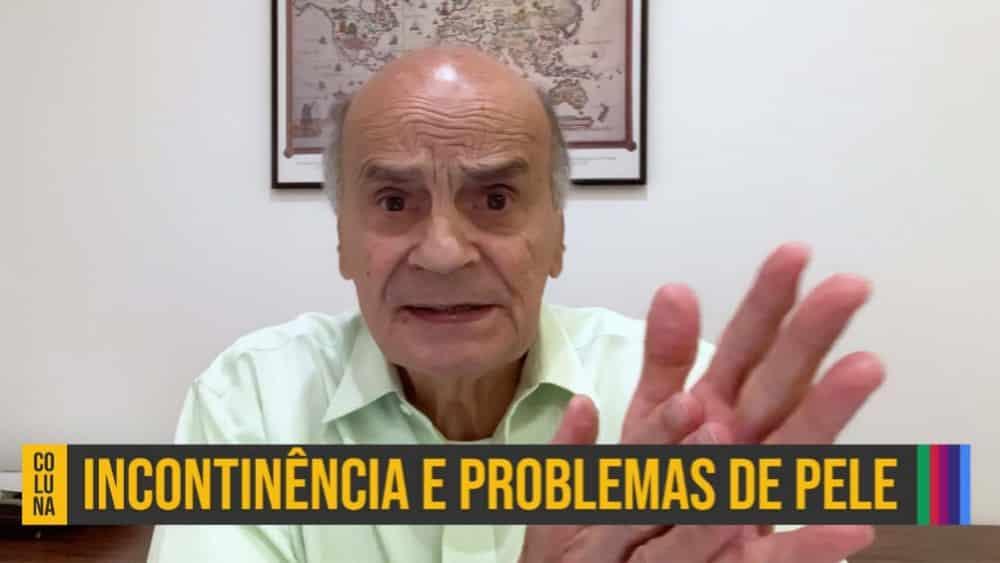 Dr. Drauzio dá dicas de como prevenir as dermatites em idosos, provocadas pelo contato da urina com a pele.