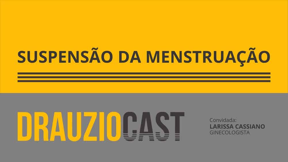 Dr. Drauzio conversa com a ginecologista Dra. Larissa Cassiano sobre a possibilidade das mulheres suspenderem a menstruação.