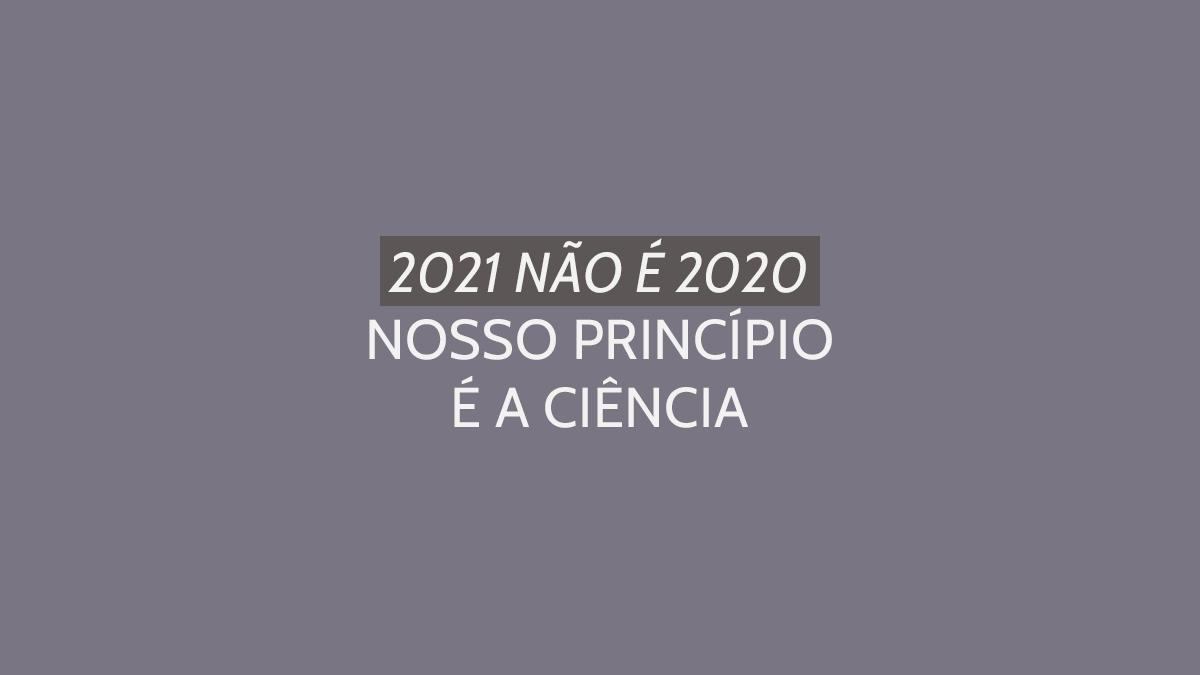 editorial drauzio varella: 2021 não é 2020